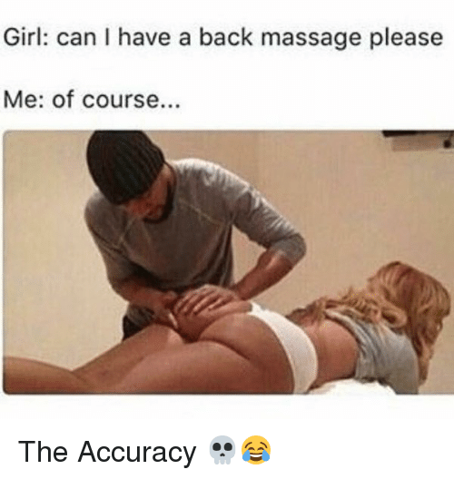 back massage meme