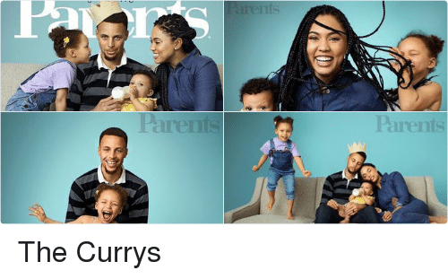 Ayesha Curry, Parents, and Stephen: 7.  <\飞   Parents   vh  on   Realthy kids  appy &amilies  ONE AMAZING TEAM  STEPHEN AND  AYESHA CURRY TALK  COURTSHIP, FAME,  AND PARENTHOOD  PAGE 88 The Currys