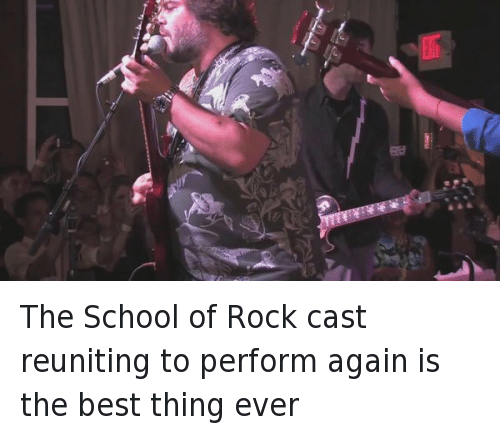 School of Rock: The School of Rock cast reuniting to perform again is the best thing ever