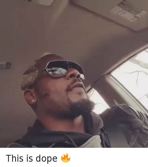 Dope, Funny, and Hood Shit: This is dope 🔥