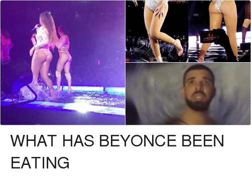 Beyonce: ご WHAT HAS BEYONCE BEEN EATING