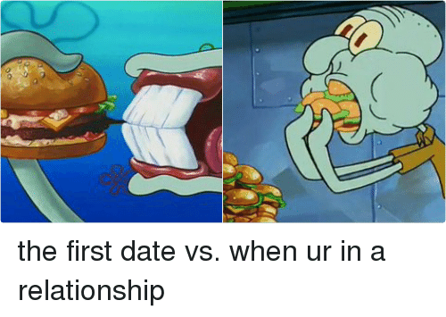 Dating vs being in a relationship