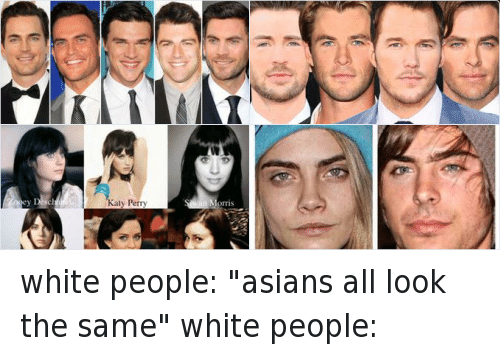 Asian And White People 66