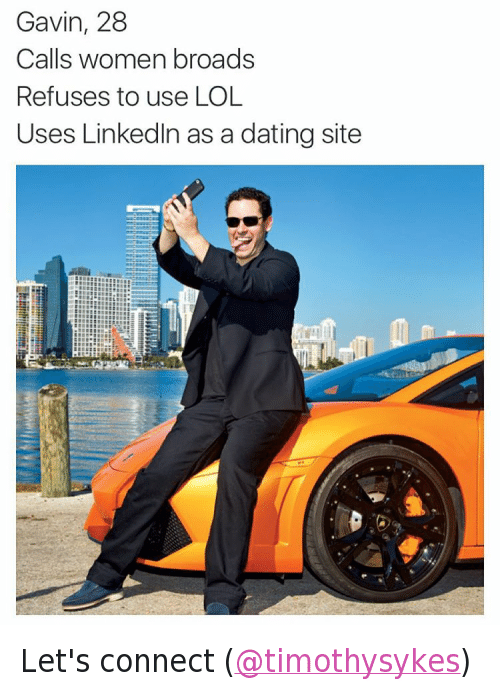 Dating site that uses linkedin