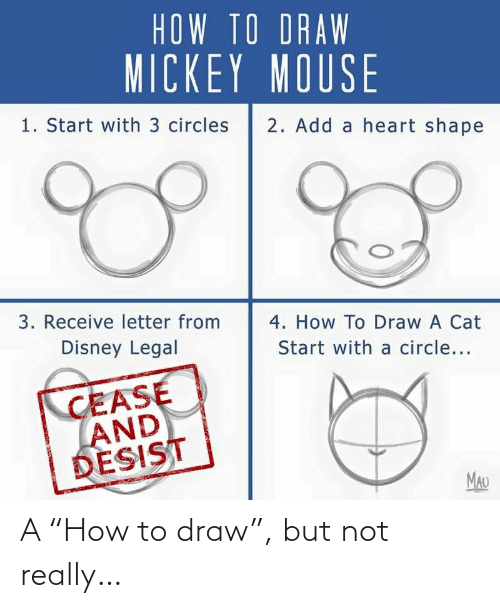 """not really: A """"How to draw"""", but not really…"""