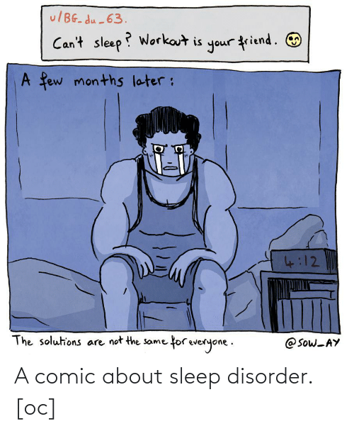 disorder: A comic about sleep disorder. [oc]