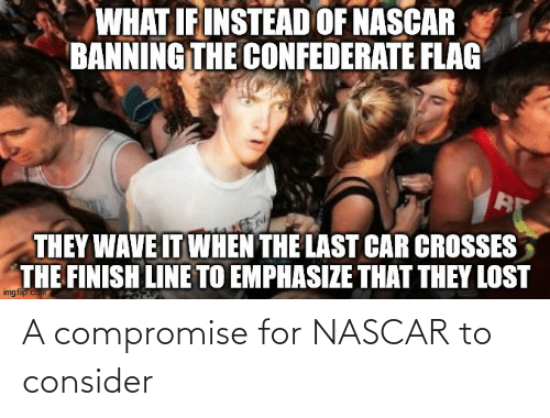 nascar: A compromise for NASCAR to consider