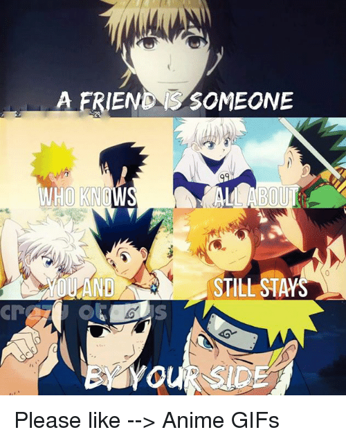 animated gif: A ERIENONS SOMEONE  WHO KNOWS  YOU AND STILL ST Please like --> Anime GIFs