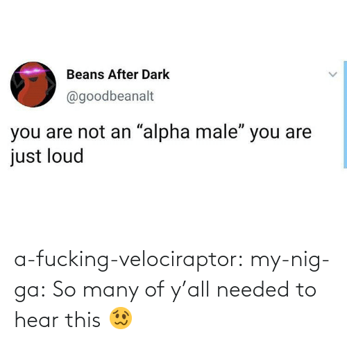 So Many: a-fucking-velociraptor: my-nig-ga: So many of y'all needed to hear this 🥴
