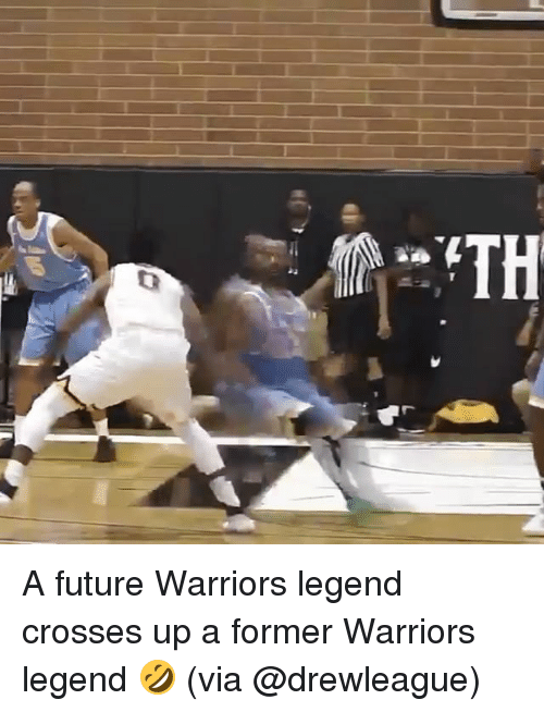 Future, Sports, and Warriors: A future Warriors legend crosses up a former Warriors legend 🤣 (via @drewleague)