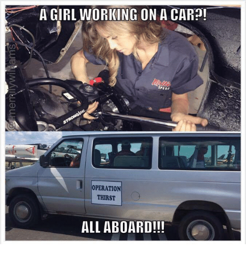 a girl working on a car speed operation thirst all 3178541 a girl working on a car?! speed operation thirst all aboard