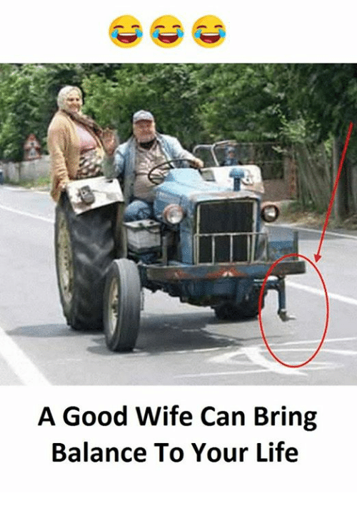 Life, Good, and Wife: A Good Wife Can Bring  Balance To Your Life