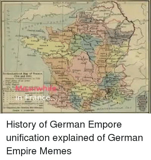 a history of german unification