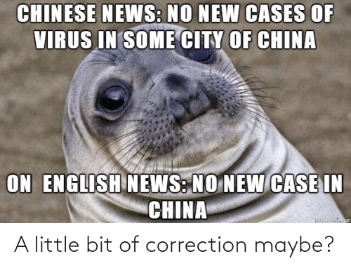 a little bit: A little bit of correction maybe?