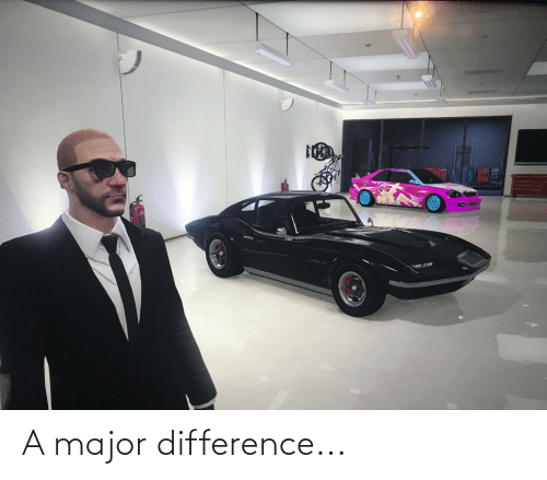 major: A major difference...