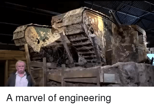 Marvel and Engineering: A marvel of engineering
