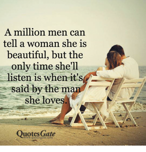 Man Loving A Woman Quotes: 25+ Best Memes About She Is Beautiful