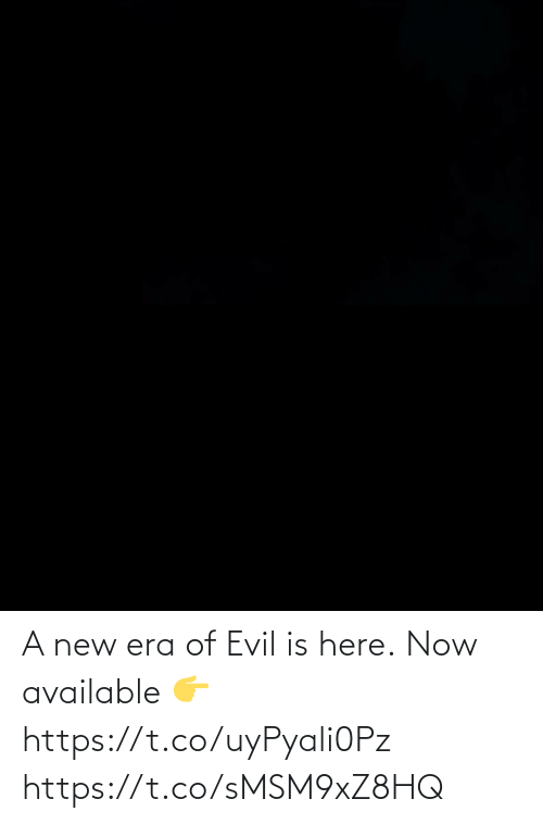Evil: A new era of Evil is here.  Now available 👉  https://t.co/uyPyali0Pz https://t.co/sMSM9xZ8HQ