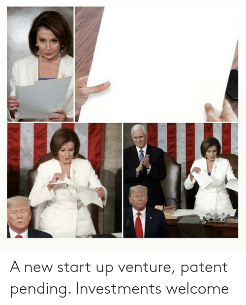patent: A new start up venture, patent pending. Investments welcome