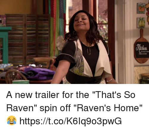 """That's So Raven: A new trailer for the """"That's So Raven"""" spin off """"Raven's Home"""" 😂 https://t.co/K6Iq9o3pwG"""