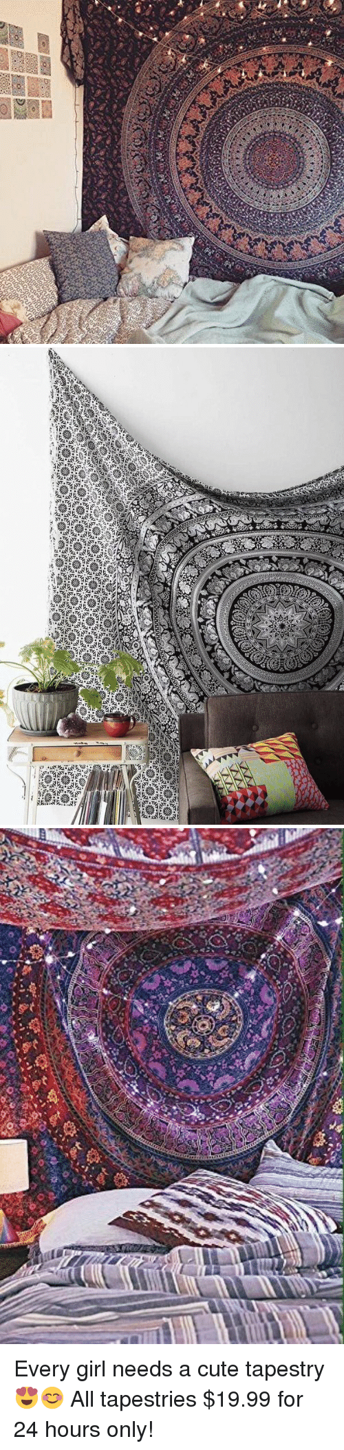 Tibbing: A  no  lang Bees man   ViZi  tib Every girl needs a cute tapestry 😍😊 All tapestries $19.99 for 24 hours only!