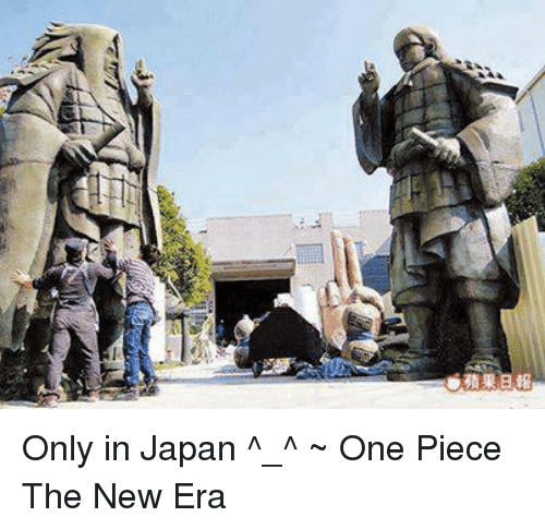 Only In Japan: A Only in Japan ^_^   ~ One Piece The New Era