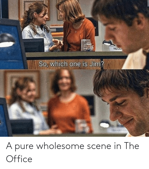 pure: A pure wholesome scene in The Office