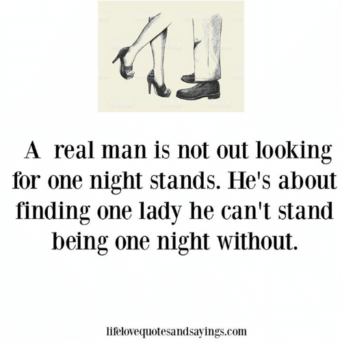 looking for one night stands