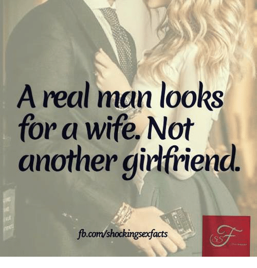 What a man looks for in a wife