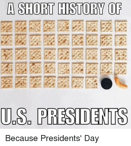 presidents day: A SHORT HISTORY OF  UDS PRESIDENTS Because Presidents' Day