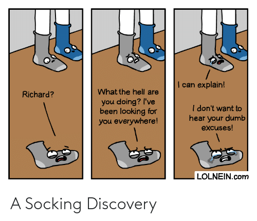discovery: A Socking Discovery