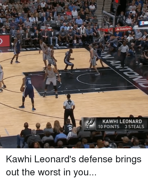 The Worst Out Of State Drivers In Your State: Funny Kawhi Leonard Memes Of 2017 On SIZZLE
