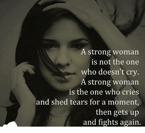 how to be a strong woman in love