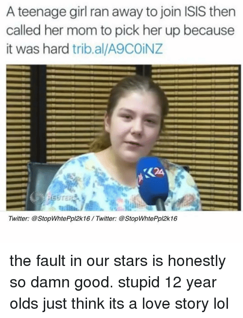 the girl who ran away In a video interview with kurdish tv, marilyn nevalainen, 16, said she knew nothing about the islamic state before she ran away to iraq with her boyfriend.