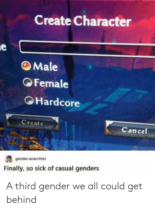 gender: A third gender we all could get behind