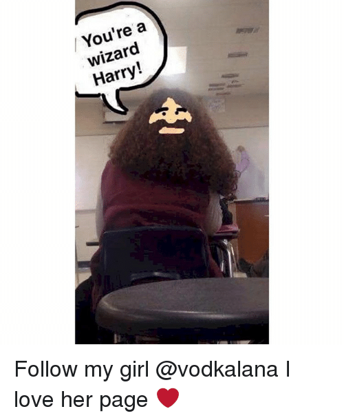 Wizard Harry: a  wizard  Harry Follow my girl @vodkalana I love her page ❤️