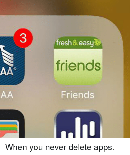 how to delete find frineds app