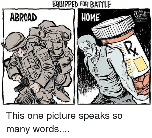 Memes, Home, and 🤖: ABROAD  EQUIPPED FOR BATTLE  HOME This one picture speaks so many words....