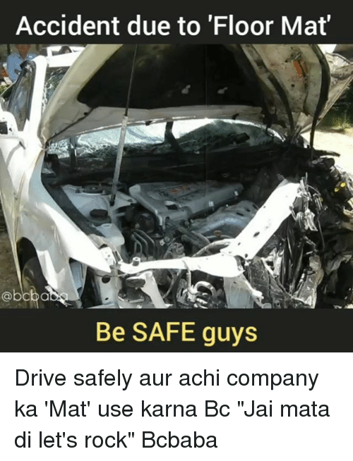 accident guys Women are on average less aggressive and more law-abiding drivers -- attributes that lead to fewer accidents, the study says not that guys have completely caught on of the men surveyed by .
