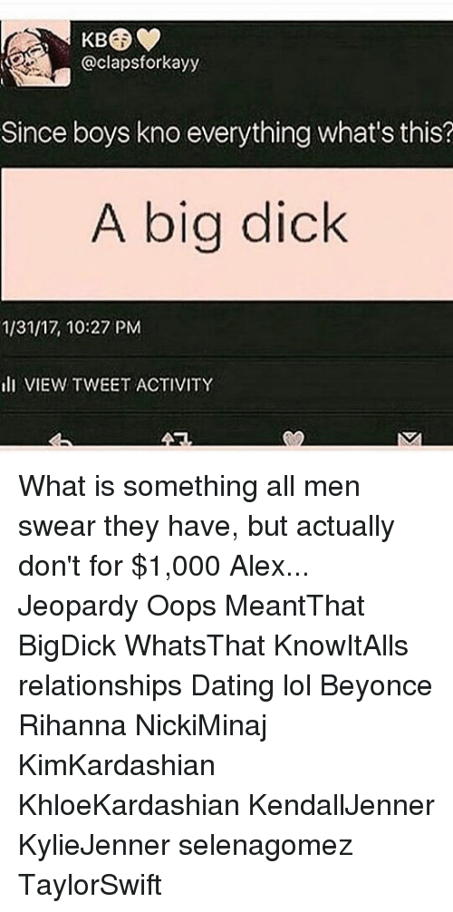 Whats a big dick