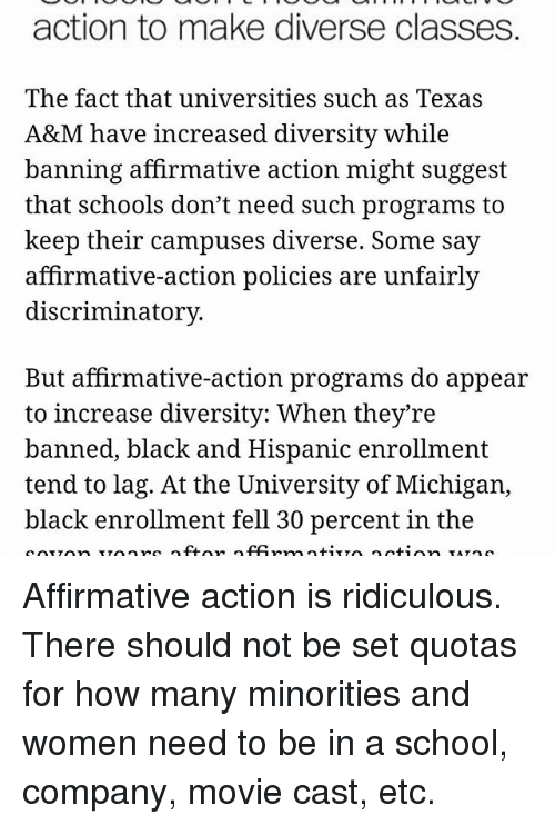affirmative action keeping minorities down for Affirmative action is failing minority students  despite affirmative action policies aimed at increasing college attendance  we look forward to keeping you .
