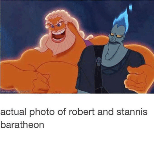 baratheon: actual photo of robert and stannis  baratheon
