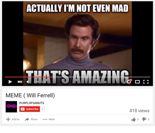 Amazing Meme: Funny Will Ferrell Memes Of 2016 On SIZZLE