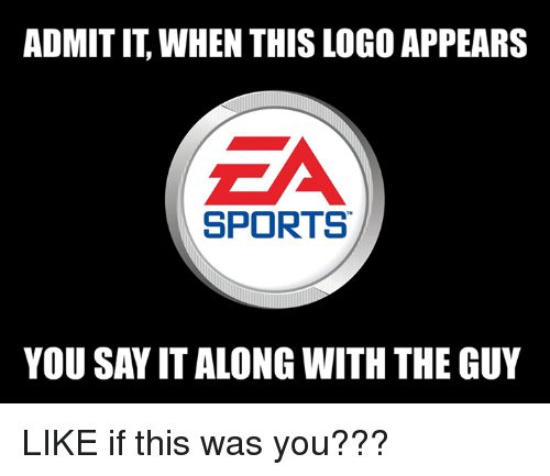 Nfl, Sports, and Say It: ADMIT IT, WHEN THIS LOGO APPEARS  SPORTS  YOU SAY IT ALONG WITH THE GUY LIKE if this was you???