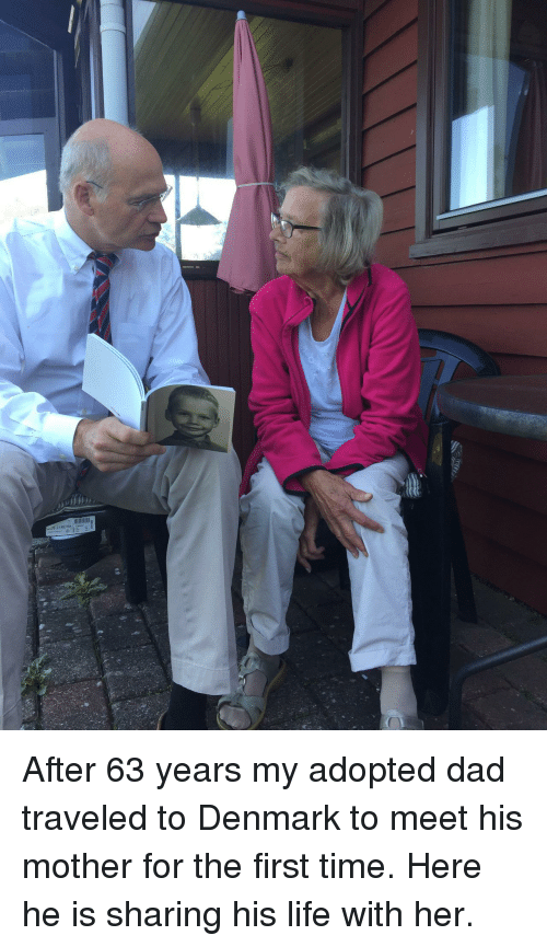 Dad, Life, and Denmark: After 63 years my adopted dad traveled to Denmark to meet his mother for the first time. Here he is sharing his life with her.