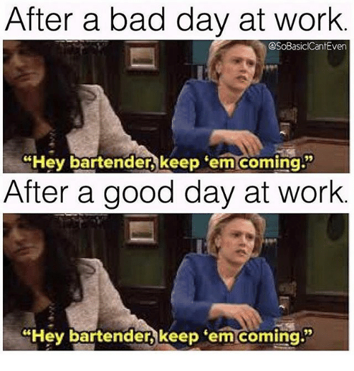Funny Memes For A Bad Day At Work : Bad day at work meme images