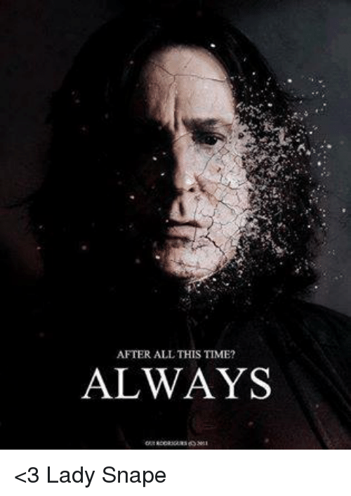 Funny Snape Memes Of 2017 On SIZZLE | Rickman