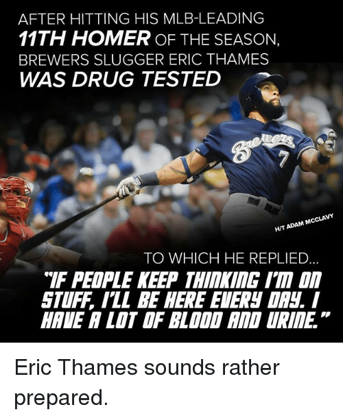 Image result for meme milwaukee eric thames