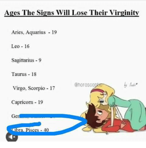 When do you lose your virginity