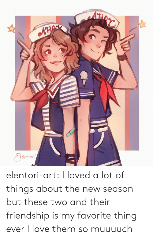 my-favorite-thing: AH  Eleatori elentori-art: I loved a lot of things about the new season but these two and their friendship is my favorite thing ever I love them so muuuuch